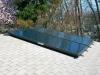 Solar Hot Water Panels on Roof in VA