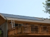 Solar Pool Panels on Roof in MD
