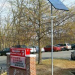 Abington Elementary School Solar Powered LED Sign